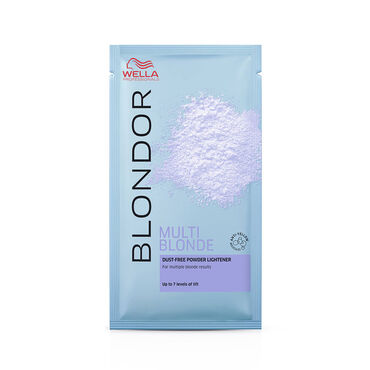 Wella Professionals Blondor Multi Blonde Powder Sachet Bleach 30g