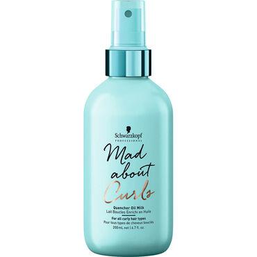 Schwarzkopf Professional Mad About Curls Quencher Oil Milk, 200ml