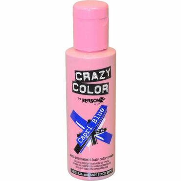 Crazy Color Crazy Color Semi Permanent Hair Colour Cream - Capri Blue 100ml