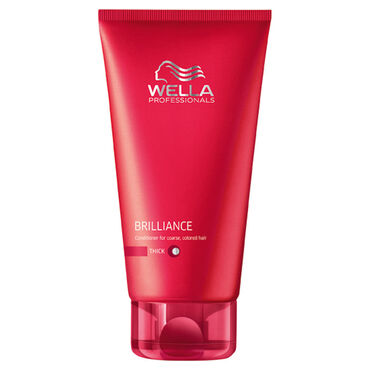 Wella Professionals Brilliance Conditioner Thick Hair 200ml