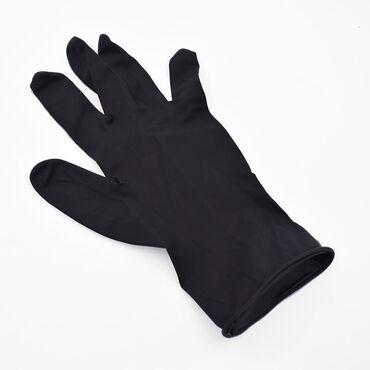 Colortrak Reusable Latex Gloves Black - Medium