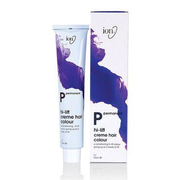 Ion Hi-Lift Permanent Hair Colour - 12.89 Super Light Pearl Ash Blonde 100ml