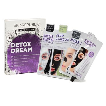 Skin Republic Detox Dream Face Mask Gift Set Pack of 4