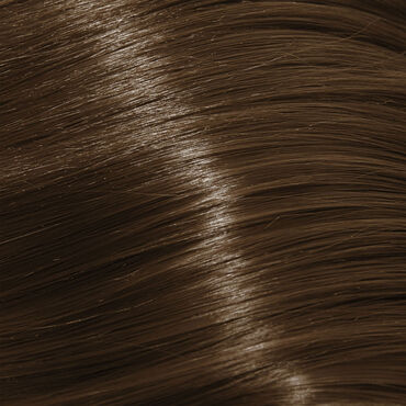 American Pride Micro Ring Human Hair Extension 18 Inch - 6 Sunkissed Brown