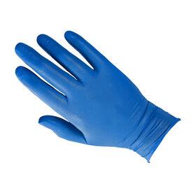 Sibel Blue Nitrile Gloves, Large, Pack of 100