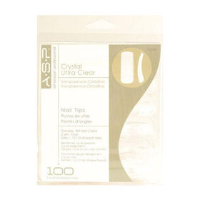 ASP Crystal Clear Tips Assorted Pack of 100