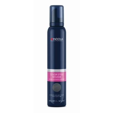 Indola Color Style Mousse - Pearl Grey 200ml