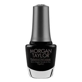 Morgan Taylor Nail Lacquer - Black Shadow 15ml