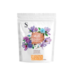 S-PRO Botanical Collection Peach with Orange Flower Hot Wax, 500g