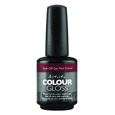 Artistic Caution: Extremely Hot Collection Colour Gloss Gel Polish Spicy By Nature 15ml