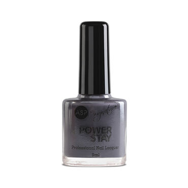 ASP Power Stay Professional Nail Lacquer Slate 9ml