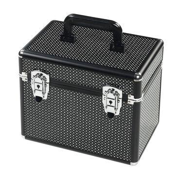 S-PRO Small Vanity Case, Black, Diamond