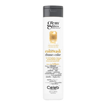 Celeb Luxury Gem Lites Semi Permanent Colourwash Shampoo Blonde - Cognac Quartz 244ml