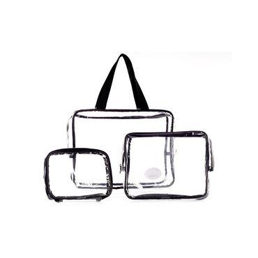 Danielle Creations 3 Piece PVC Bag Set