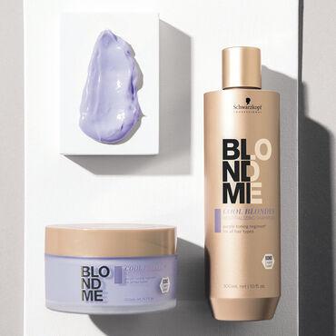 Schwarzkopf Professional BlondMe Cool Blondes Neutralizing Shampoo 300ml