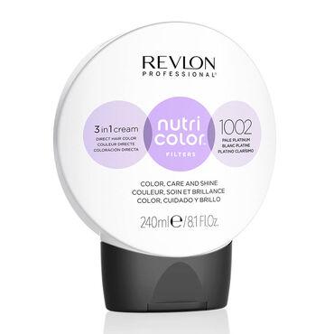 Revlon Nutri Color Filters Hair colour 1002 Pale Platinum 240ml