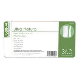 ASP Ultra Natural Tips Master Pack of 360