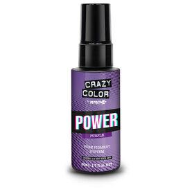Crazy Color Power Pure Pigment Drops, Purple, 50ml