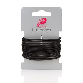 Wildest Dreams Thin Hair Ties - Black