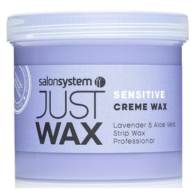 Just Wax Sensitive Brazilian Crème Wax 450g