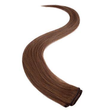 Wildest Dreams Clip In Single Weft Human Hair Extension 18 Inch - 5B Hazel Brown