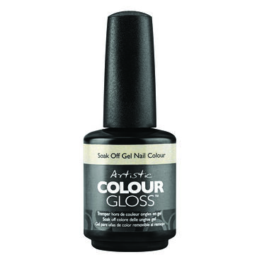 Artistic Colour Gloss Mud, Sweat & Tears Collection Gel Polish Game Face Gold 15ml