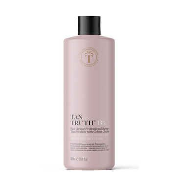 Tan Truth Fast Acting Professional Spray Tan Solution 13%, 1L