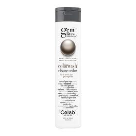 Celeb Luxury Gem Lites Semi Permanent Colourwash Shampoo Brown - Tahitian Pearl 244ml