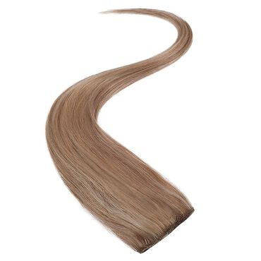 Wildest Dreams Clip In Single Weft Human Hair Extension 18 Inch - 22/14 Sunkissed Blonde Blend