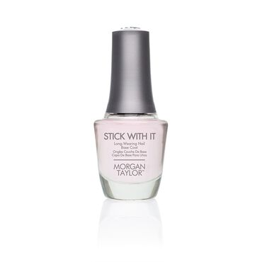 Morgan Taylor Stick With It Long-Wearing Base Coat 15ml