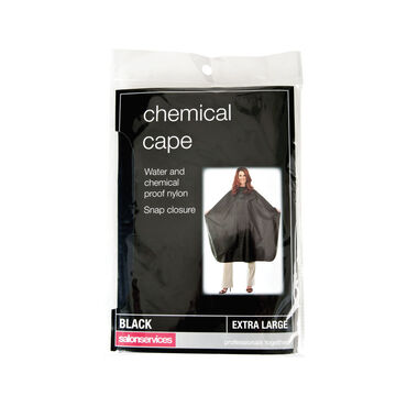 Salon Services Chemical Cape Black