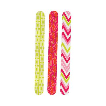 Danielle Creations Novelty Nail Files Pack of 3