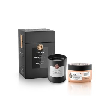 Maria Nila Care & Style Heal Hair Masque + Candle Gift Box