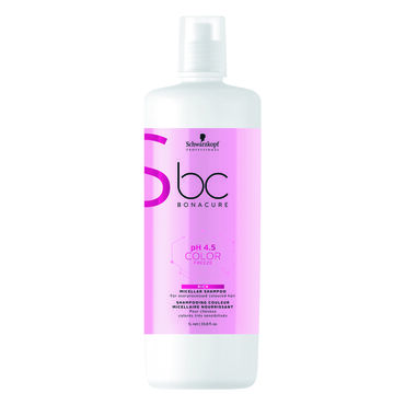 Schwarzkopf Professional Bonacure pH 4.5 Color Freeze Micellar Rich  Shampoo 1L
