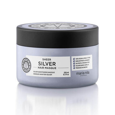 Maria Nila Sheer Silver Masque 250ml