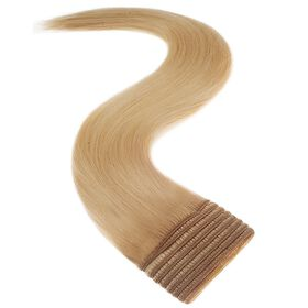 Satin Strands Weft Full Head Human Hair Extension - Malibu 22 Inch