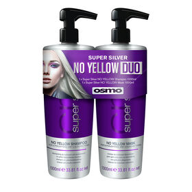 Osmo Super Silver No Yellow Shampoo & Mask Duo Pack 1000ml