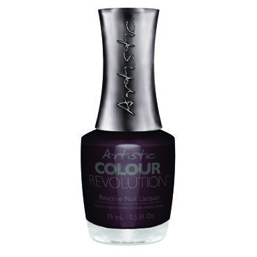 Artistic Colour Revolution Caution: Extremely Hot Collection Reactive Nail Lacquer Just Roll With It 15ml