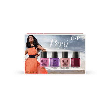OPI Peru 2018 Lacquer Mini 4 Pack 4 x 3.75ml