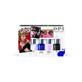 OPI Grease Collection Mini Infinite Nail Shine 4 Pack  Multi-colour 4 x 3.75ML