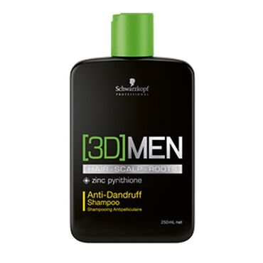 Schwarzkopf Professional 3D Men Anti-Dandruff Shampoo 250ml
