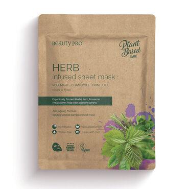 Beauty Pro Natura Herb Infused Sheet Mask 25ml
