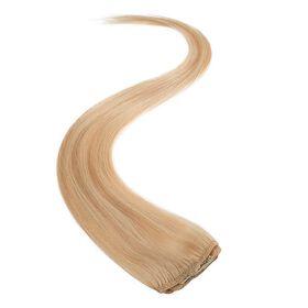 Wildest Dreams Clip In Single Weft Human Hair Extension 18 Inch - 613 Blondie Blonde