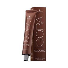Schwarzkopf Professional Igora Color 10 Permanent Hair Colour - 6-65 Dark Blonde Chocolate Gold 60ml