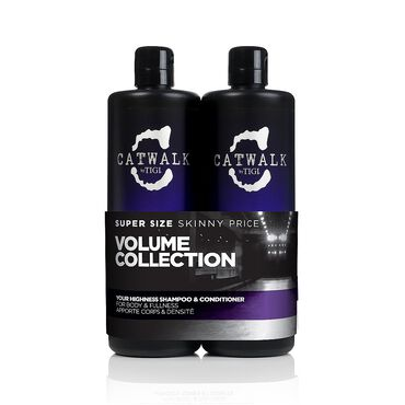TIGI Catwalk Your Highness Shampoo & Conditioner Tween Pack