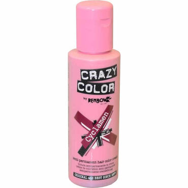 Crazy Color Crazy Color Semi Permanent Hair Colour Cream - Cyclamen 100ml