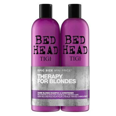 TIGI Bed Head Dumb Blonde Shampoo and Conditioner 2x 750ml