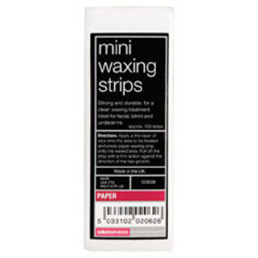 Salon Services Mini Wax Strips 100 Pack