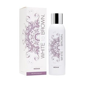 Whitetobrown Self Tanning Mist Medium 200ml