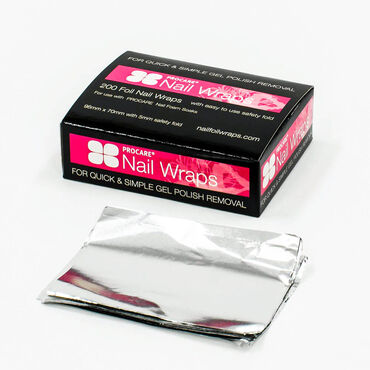 Procare Foil Nail Wraps Pack of 200